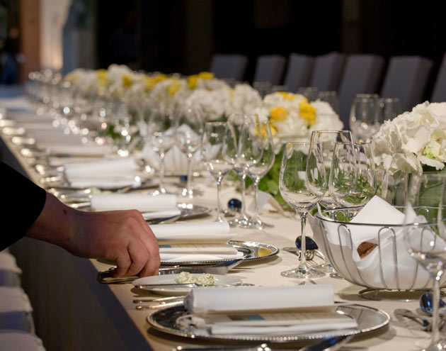 Beispiel: Sorgfalt und Professionalität, Foto: First Catering.