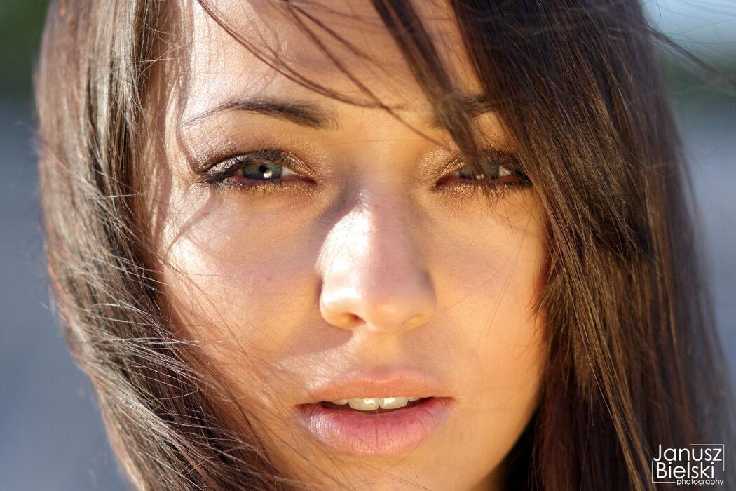 foto Janusz Bielski modelka Karolina
