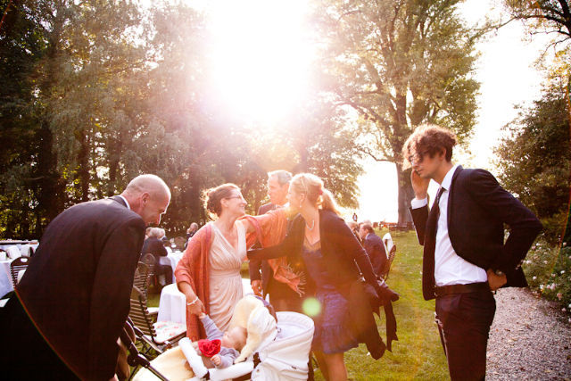 Beispiel: Hochzeitsfeier, Foto: Gut Schloß Golm.
