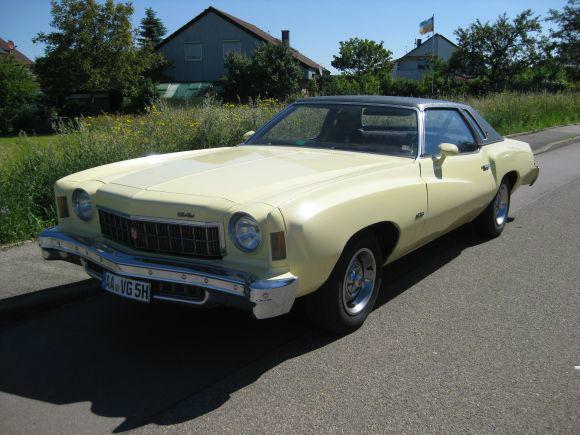 Beispiel: Chevrolet Monte Carlo, Foto: Knut Ginzel Oldtimerverleih.