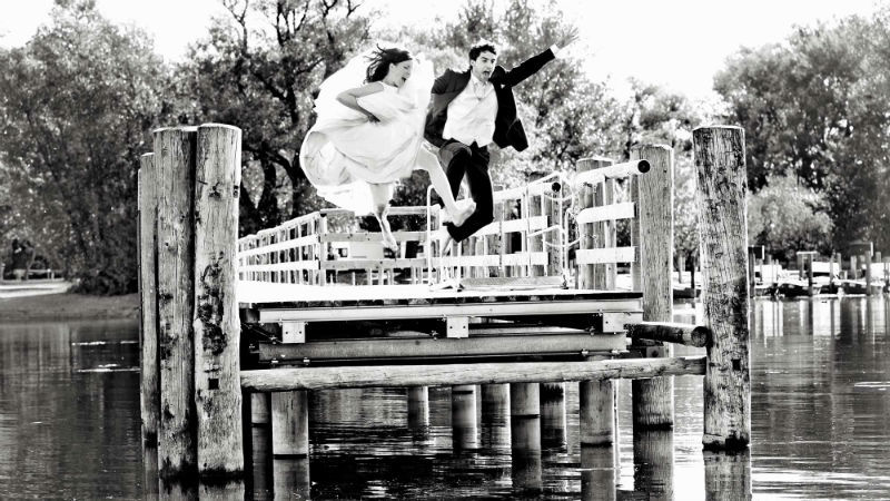 Beispiel: Originelle Hochzeitsfotos, Foto: Katja Schünemann Wedding Photographie.