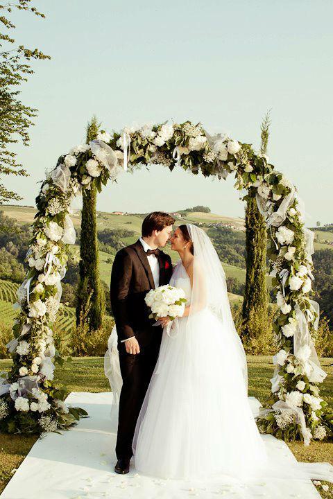 Beautiful wedding in Italy
