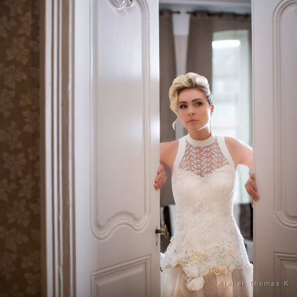 Dana créateur couturier - Côté Atelier -   Robe Mary-Lyne