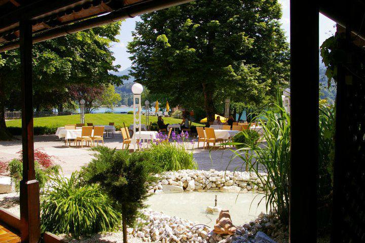 Beispiel: Terrasse, Foto: Inselhotel Faakersee.