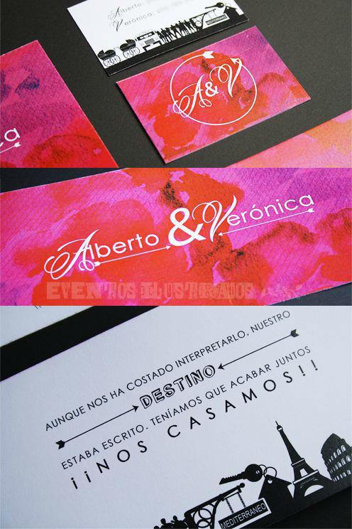 Eventos Ilustrados Invitaciones.