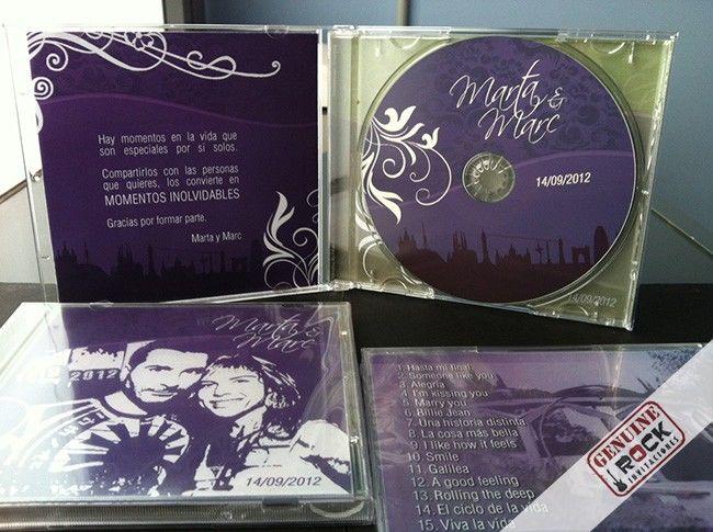CD Personalizado caja Jewel Box