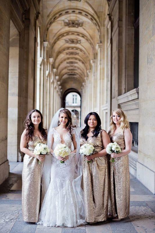 Mariée et demoiselles d'honneur Crédit Photo: Flora Chevalier