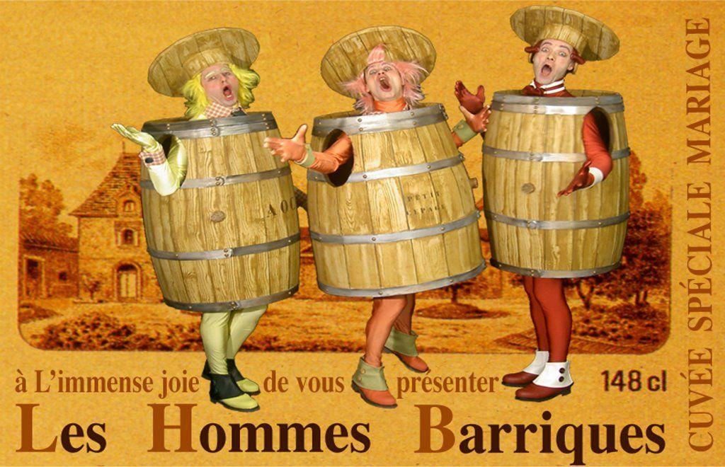 Les Hommes Barriques  (version Sommelier / Vin rouge, vin blanc et vin rosé)