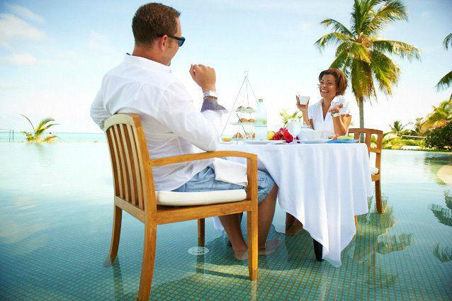 Romantischer Urlaub zu Zweit, LUX* Maldives