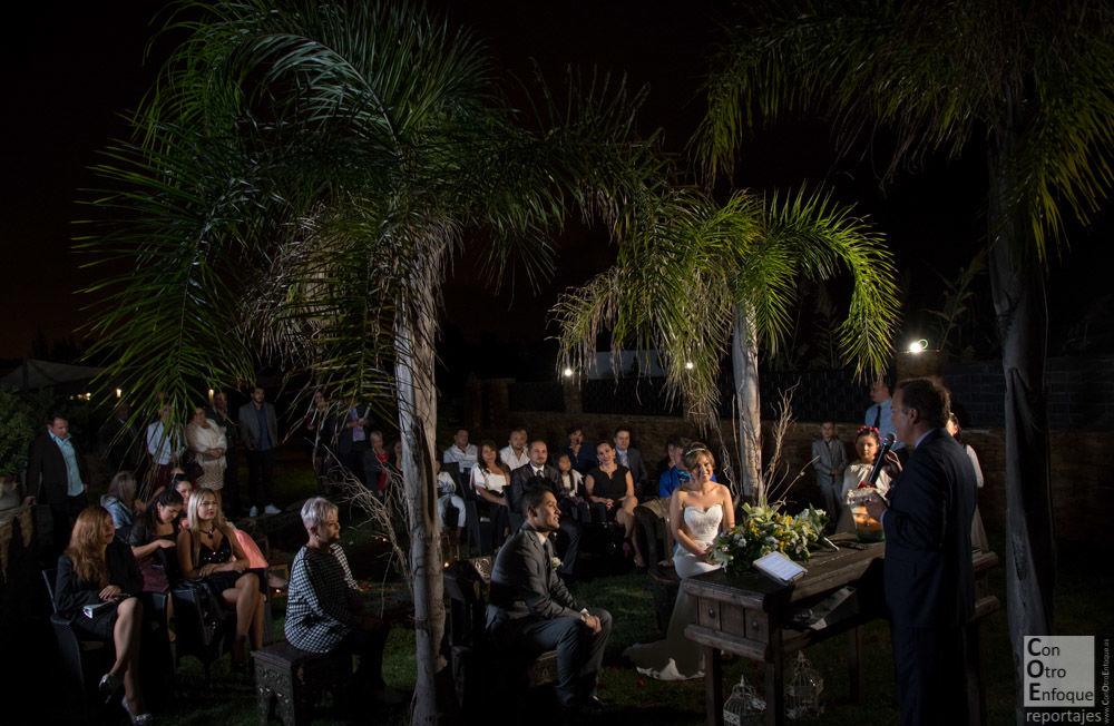 Boda nocturna en Wakaya Lounge, Pinedo (Valencia)