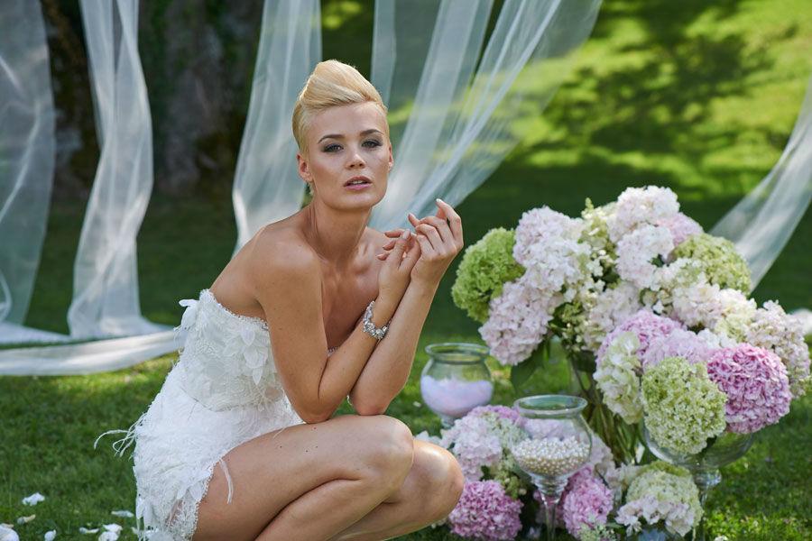 Beispiel: Brautmode für jeden Geschmack, Foto: Mery's Couture Bern.
