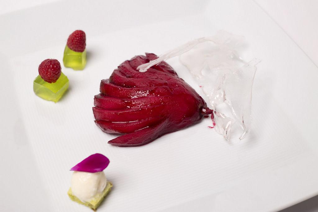 Texturas, sabores y temperaturas que contrastan al paladar.