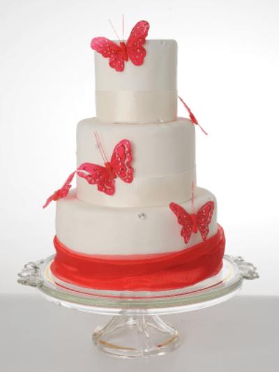 Beispiel: Torten für Ihre Hochzeit, Foto: Isler Konditorei.