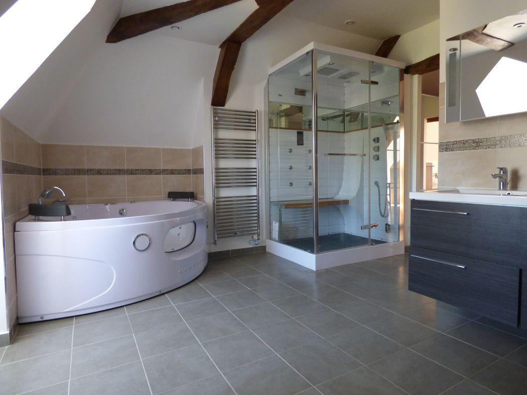 Salle de bain, suite nuptiale