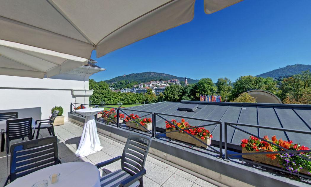 Bel Etage Die Dachterrasse mit Blick über Baden-Baden