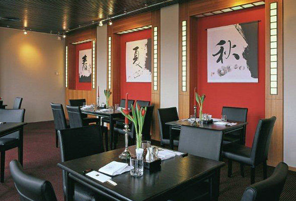 Beispiel: Japanisches Bistro, Foto: Kosaido International Golf Club.