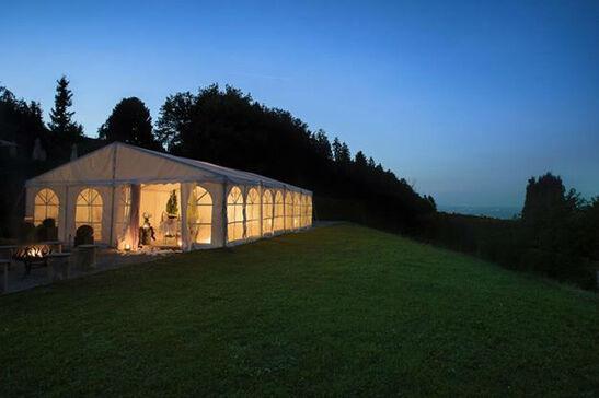 Beispiel: Pavillon, Foto: Hotel Landgasthof Wassberg.