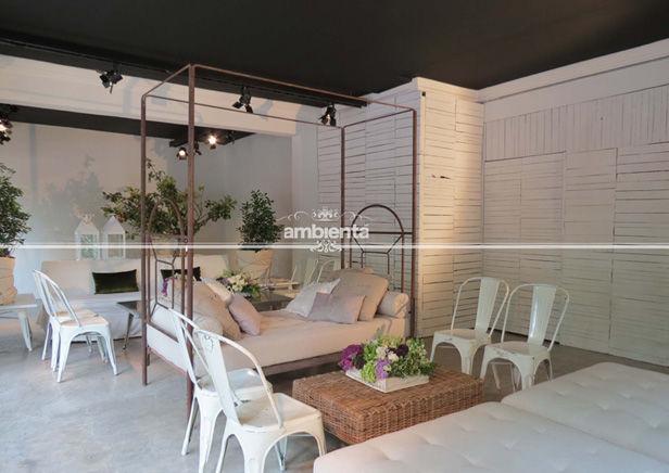 Decoración de bodas con mobiliario y accesorios de ambienta