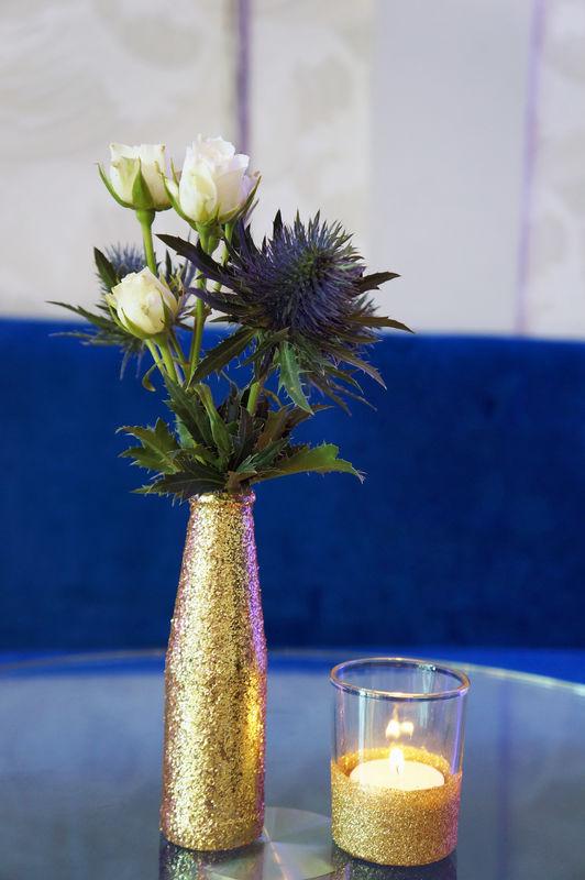 Mariage Cabaret Gatsby  Crédits : Dessine-moi une étoile (Design et Papeterie ) - Aude Rose (Fleurs)