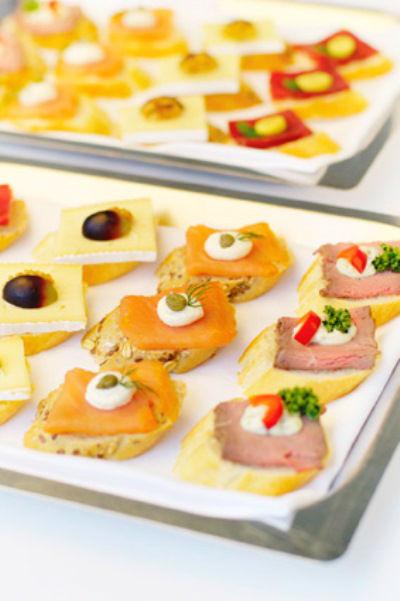 Beispiel: Fingerfood, Foto: Best Catering.com.
