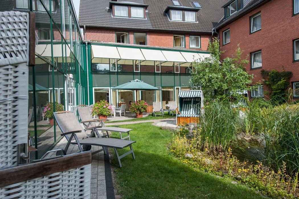 Innenhof, Foto: Hotel Birke