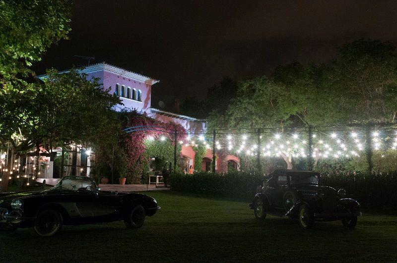 Villa Bugatti de noche