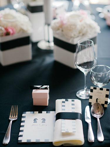 Beispiel: Tischgedeck - kleine Details, Foto: Annika Wietzorke - Hochzeitsplanung & Eventdesign.