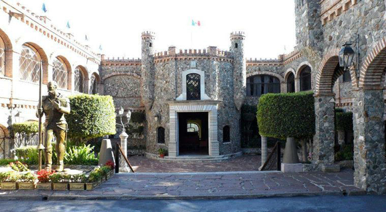 Hotel Castillo Santa Cecilia en Guanajuato