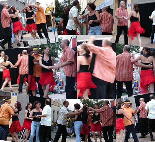 Beispiel: Salsa-Party, Foto: Alleinunterhalter Norbert Schindlegger.
