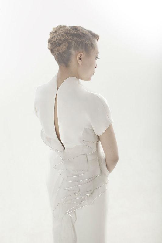 Beaumenay Joannet Paris, robe de mariée  créateur couture