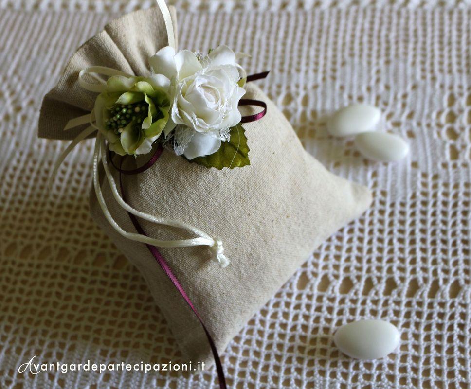 sacchetti mod. shabby chic roses