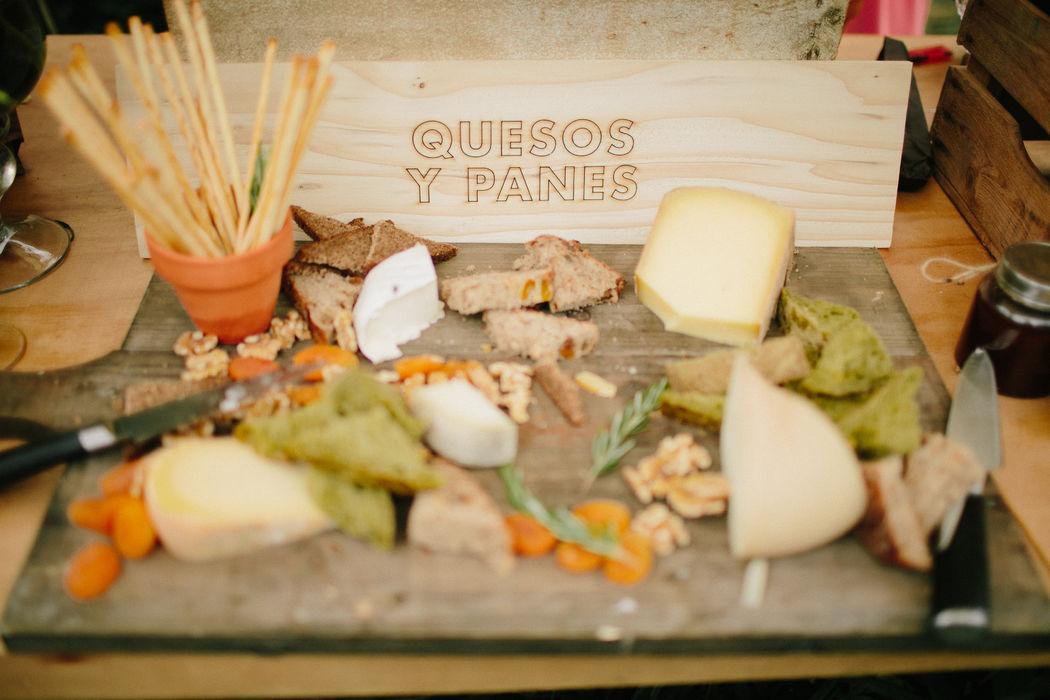 Buffet de quesos para 21 de Marzo bodas