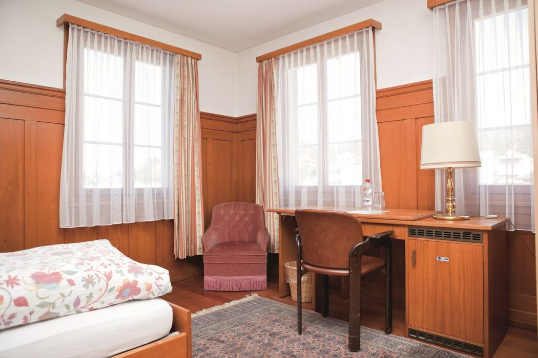 Beispiel: Hotelzimmer, Foto: Hotel Kloster Dornach.