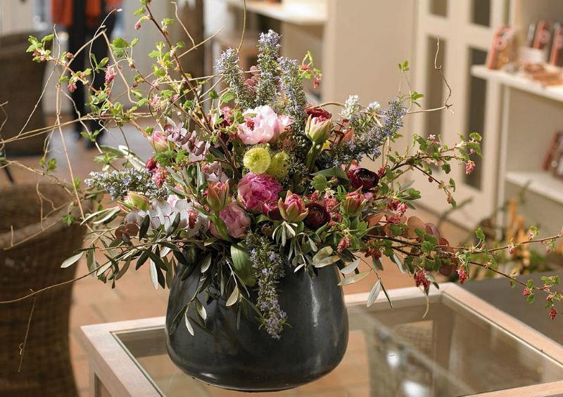 Beispiel: Wunderschöne Blumensträuße, Foto: Himmel und Erde.