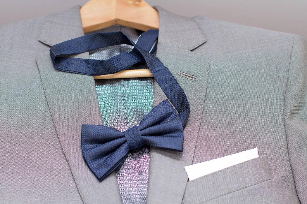Detalle traje  - Prepraración del novio