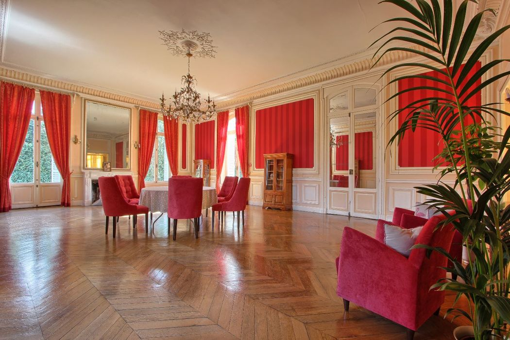 Le Salon Napoleon - Château de Villiers Cerny
