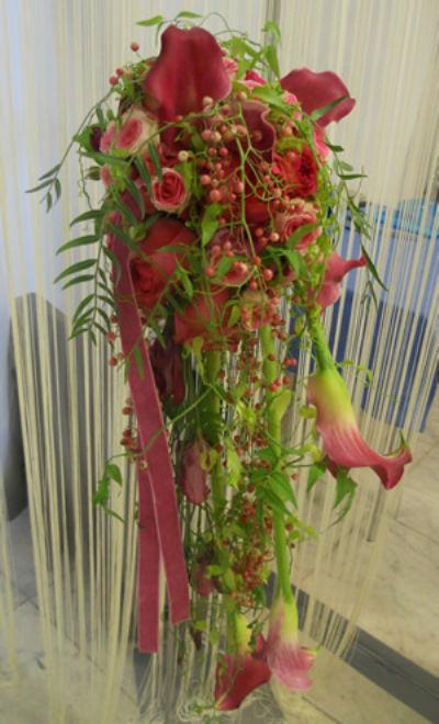 Beispiel: Blumengesteck, Foto: Blumen Christl.