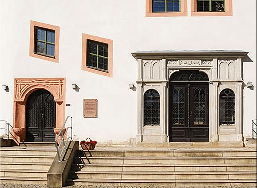Beispiel: Eingangstür, Foto: Renaissanceschloss Ponitz.