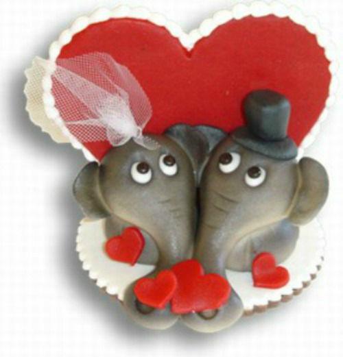 Beispiel: Elefantenpaar, Foto: Confiserie Bachmann.