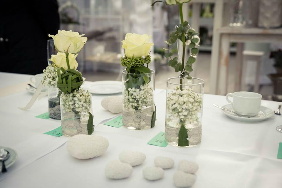 Beispiel: Hochzeitsfloristik, Foto: May Garden.