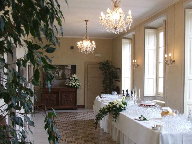 Sala della Villa Buttafava - Le Candie