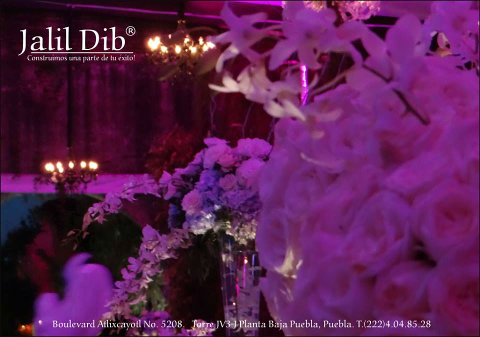 Jalil Dib. Wedding Planner. Cholula, Puebla.