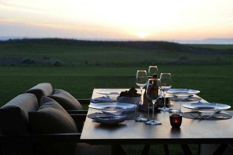 Verdura Resort, private in-room dining