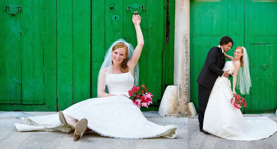 Beispiel: Make-up für die Braut, Foto: Alba Make Up.