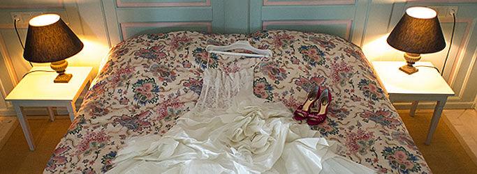 Beispiel: Hotelzimmer, Foto: Wasserschloss Hülsede.