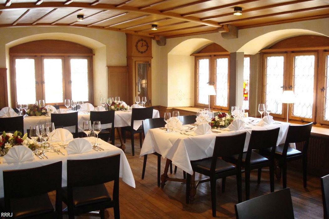 Beispiel: Ratssaal, Foto: Restaurant Rathaus.