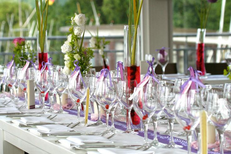 Beispiel: Menüs oder Buffets, Foto: Brunckhorst Catering.