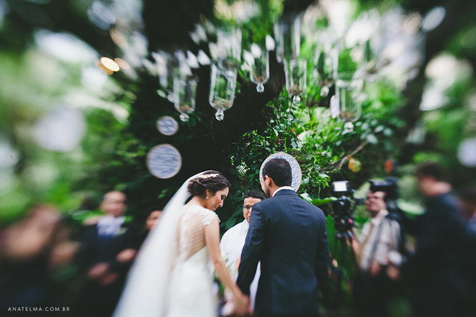 Ana Telma - Casamento: Juliana e Tiago - Cerimônia - Hotel Santa Teresa - Rio de Janeiro - RJ