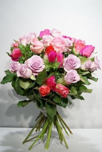 Bouquet de saison : Brassée en Rose  - Emilien Coralie