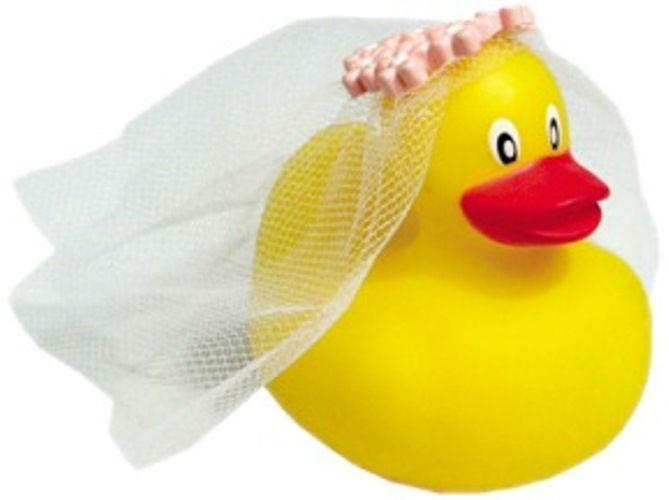 Beispiel: Ente Braut, Foto: Kreativ-Ideen.ch